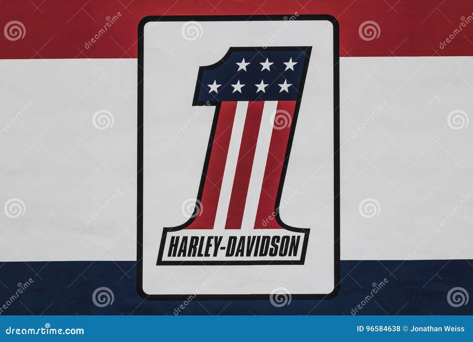 Las Vegas Circa July 2017 Harley Davidson Local Signage Harley