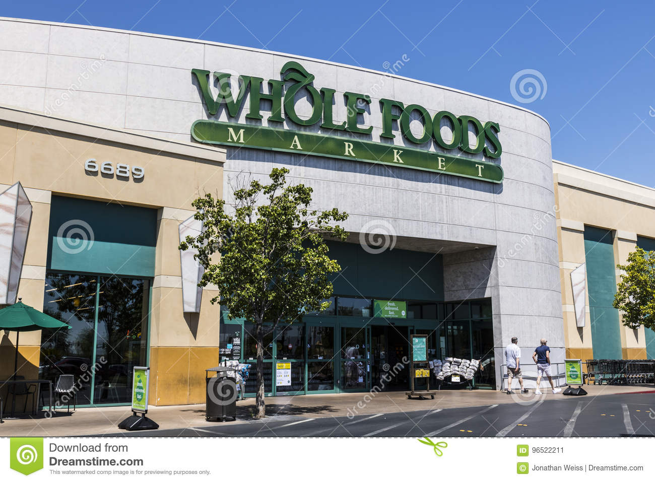 bdbb76d15 Las Vegas - Circa July 2017: Whole Foods Market. Amazon announced an  agreement to