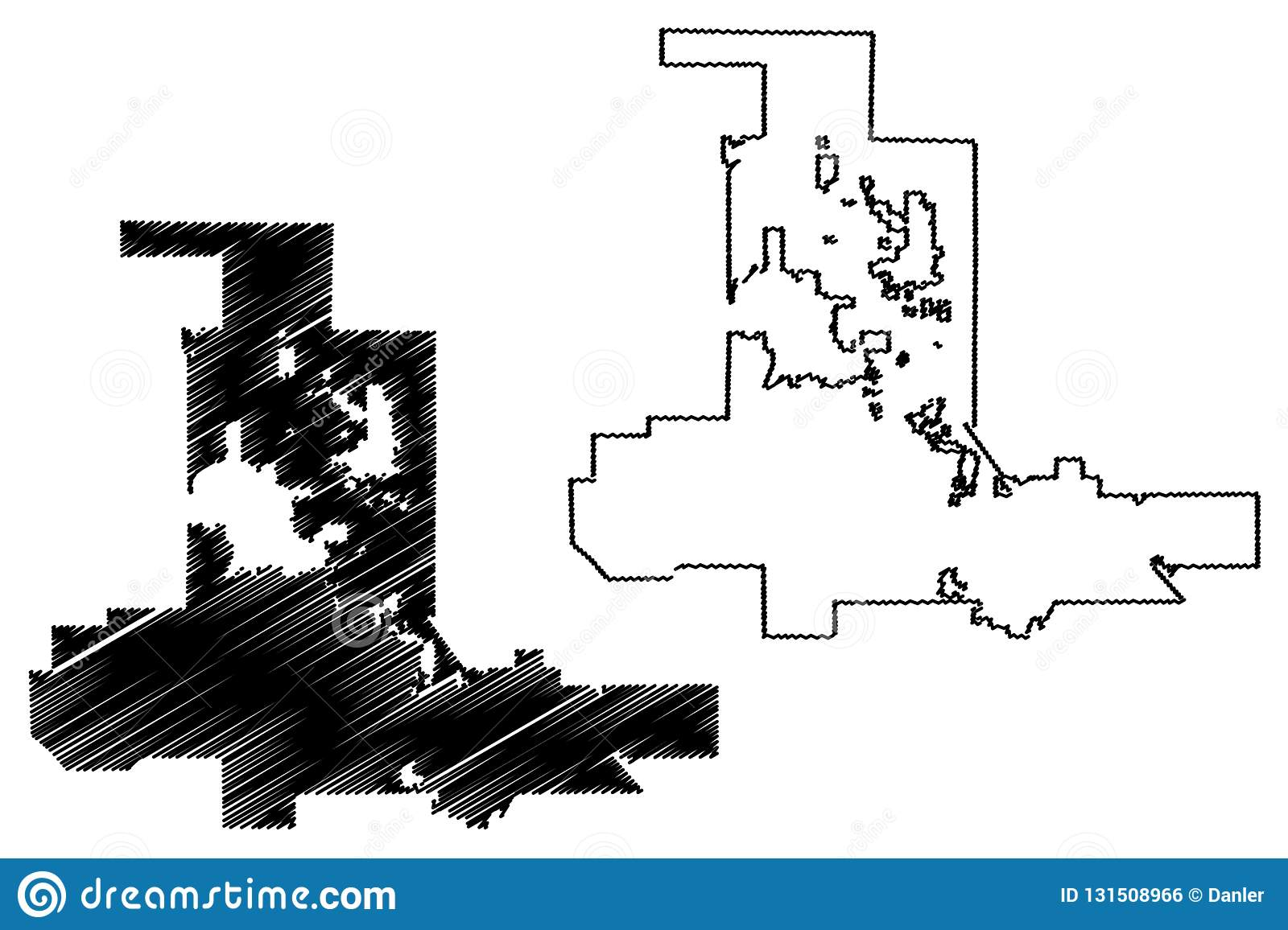 Las Vegas City map vector stock vector. Illustration of abstract ...