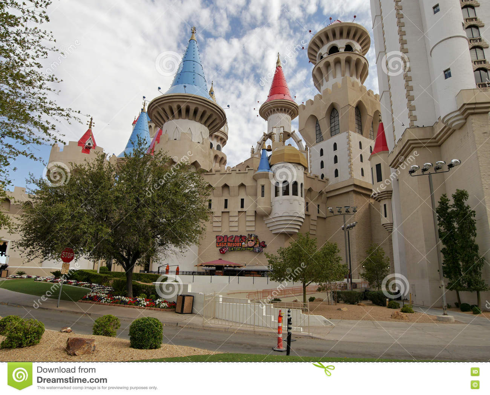 Las Vegas, Excalibur-casino en hotel