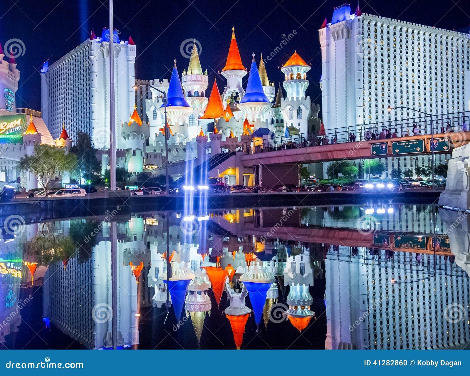 Las Vegas Excalibur Editorial Image Image Of Entertainment 41282860