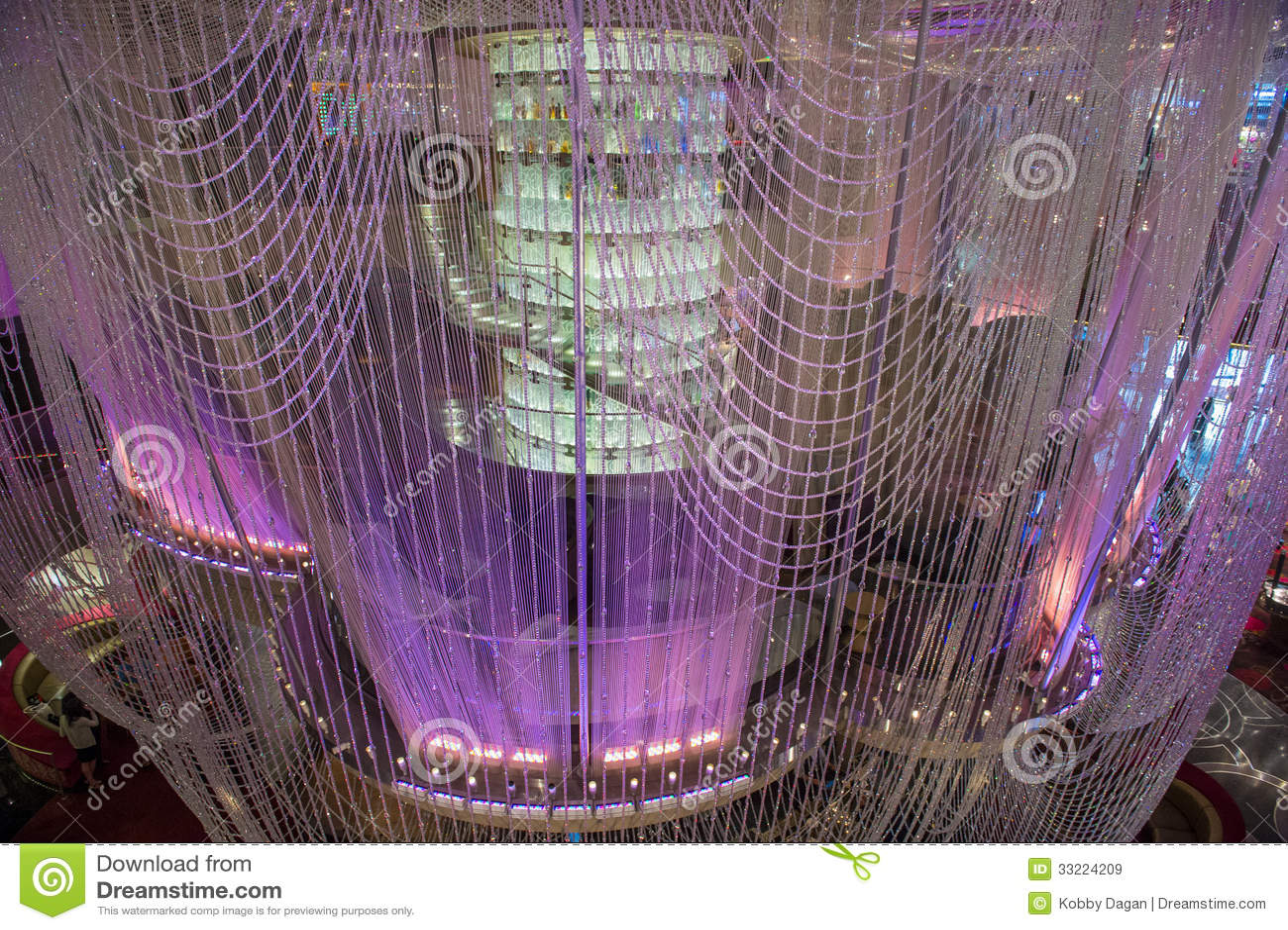 Las Vegas Editorial Stock Image - Image: 33224209