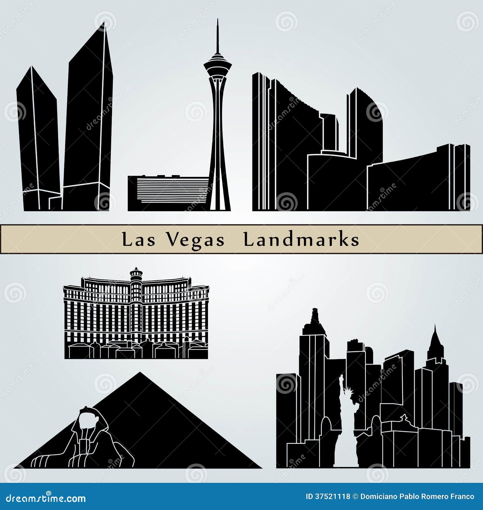 Las Vegas gränsmärken och monument
