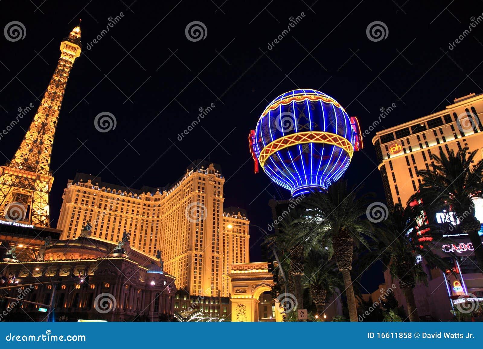 Download Las Vegas Lights Editorial Stock Photo. Image Of Nevada   16611858