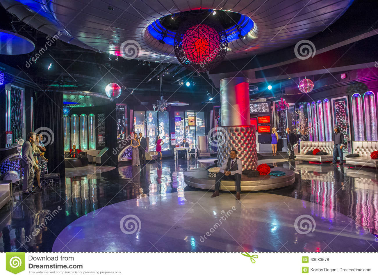 Download Las Vegas, Madame Tussauds photo stock éditorial. Image du vegas - 63083578