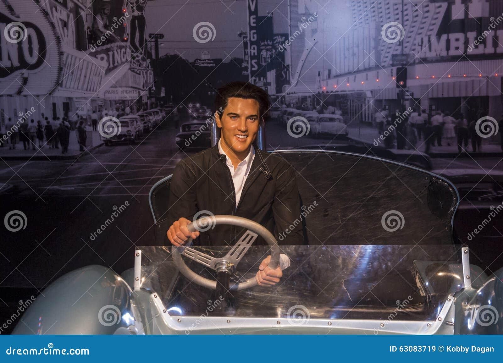 Download Las Vegas, Madame Tussauds image stock éditorial. Image du sculpture - 63083719