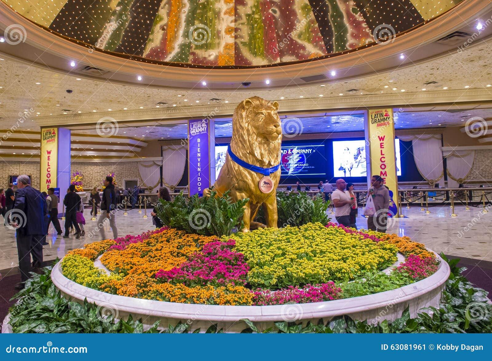 Download Las Vegas MGM photo éditorial. Image du paumes, lumières - 63081961
