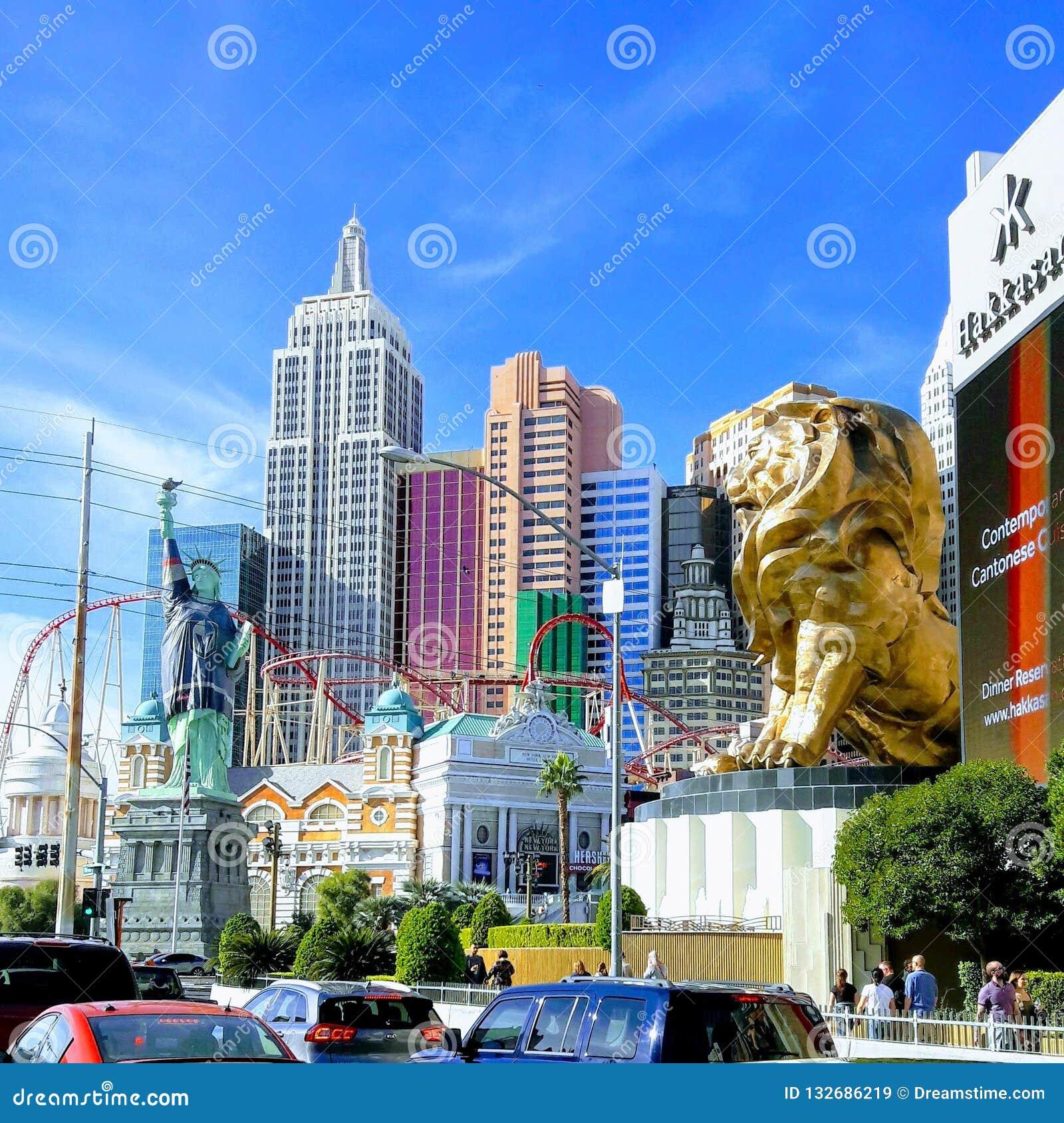 Las Vegas nanovoltio la tira Turismo