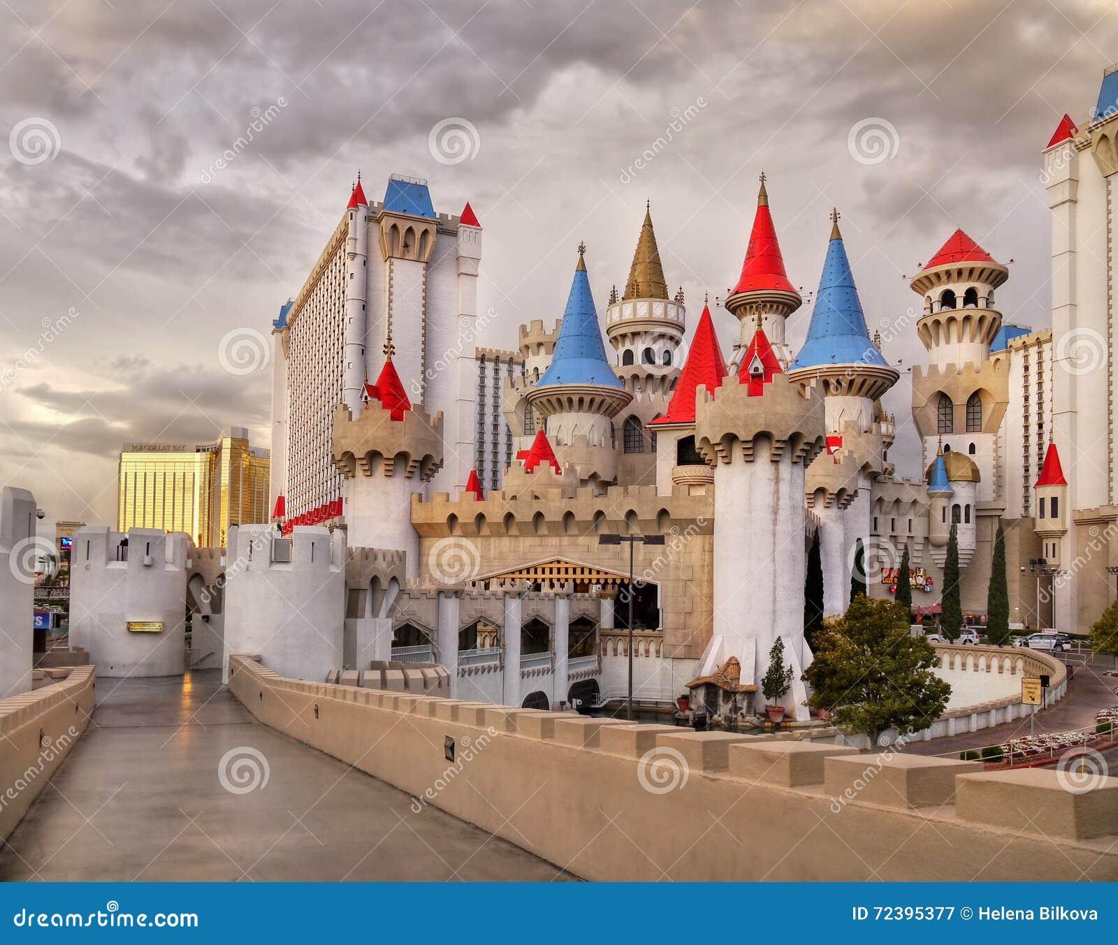 las vegas nevada excalibur hotel and casino editorial photography image 72395377. Black Bedroom Furniture Sets. Home Design Ideas