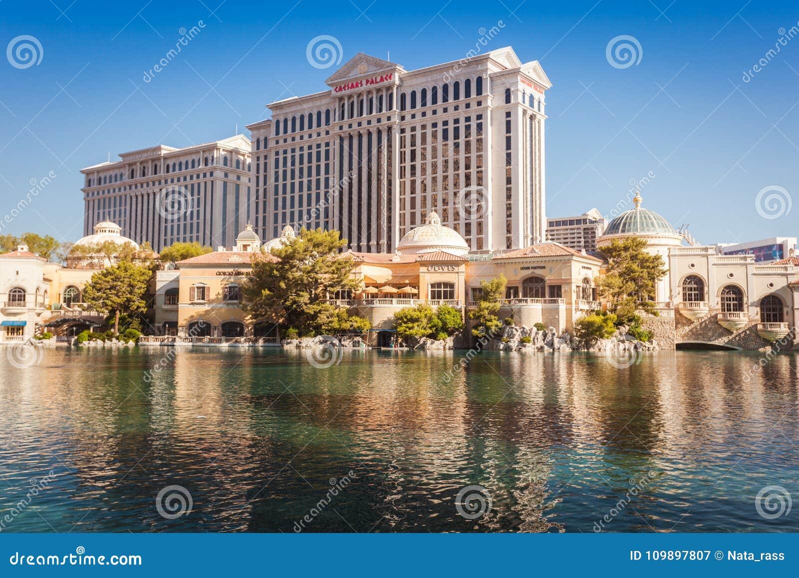 Caesar Palace Casino In Las Vegas Editorial Photography Image Of Entertainment Caesar 109897807