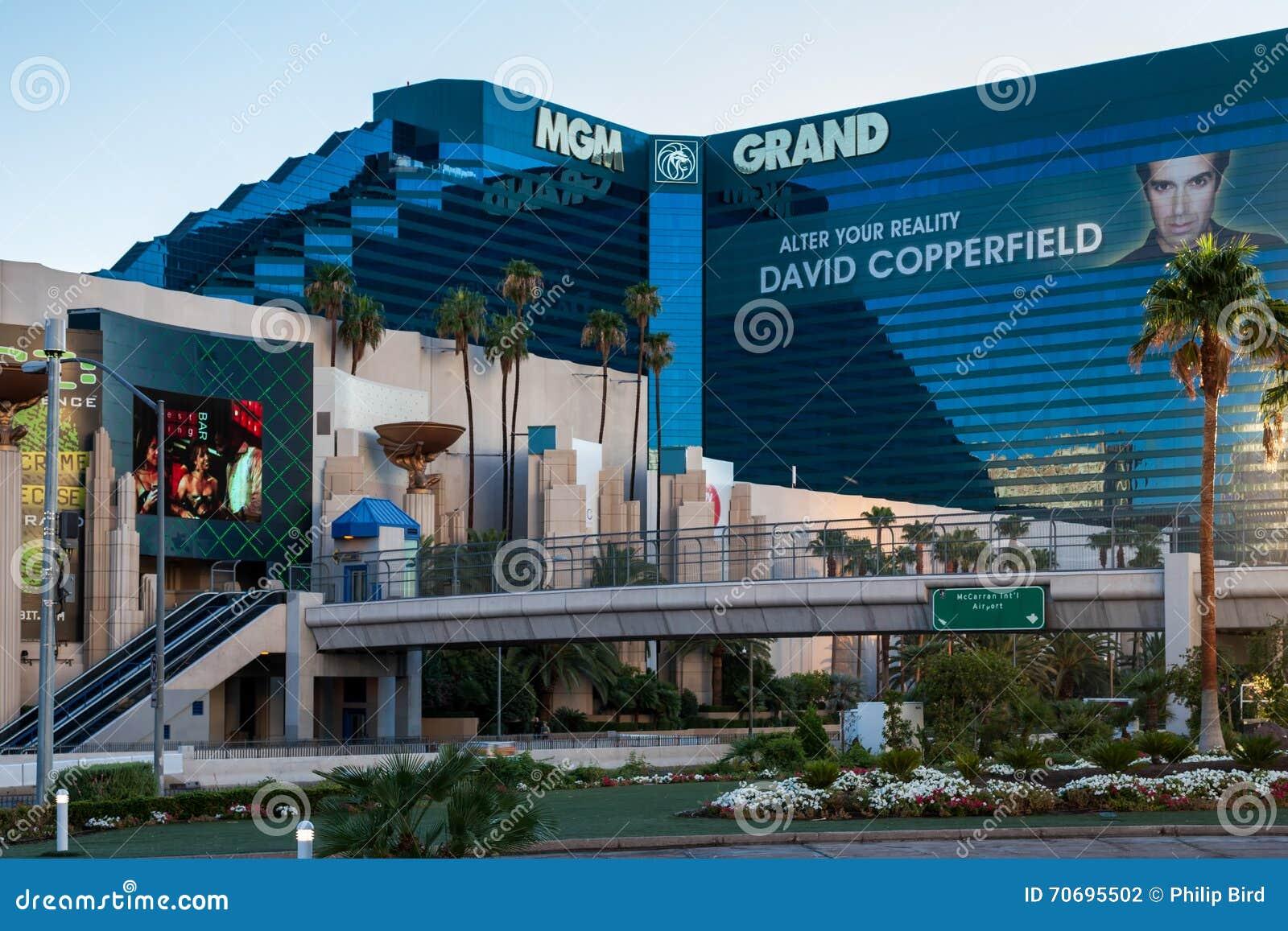 LAS VEGAS, NEVADA/USA - 1 DE AGOSTO; Vista del hotel de Mgm Grand en La