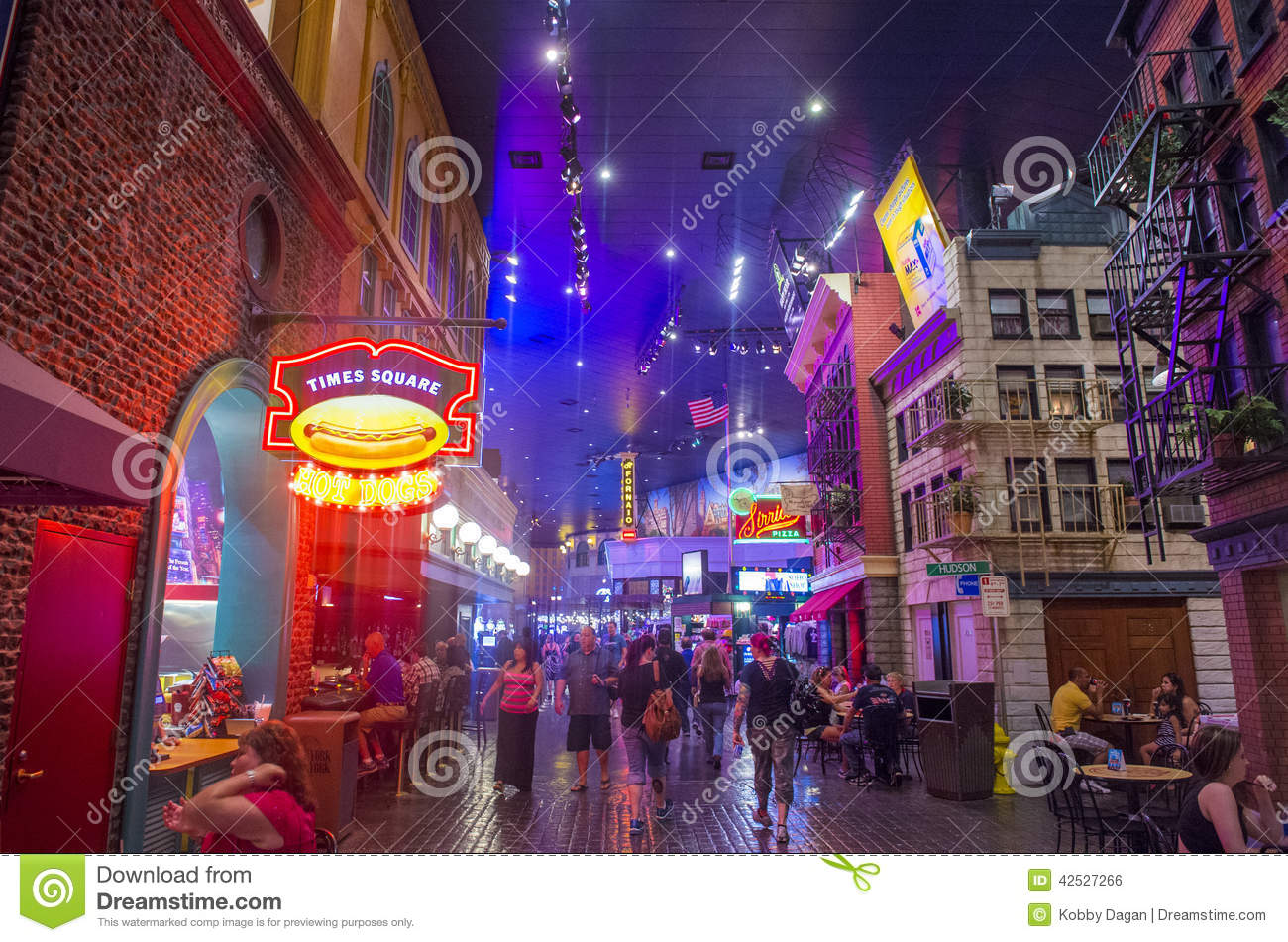 Map Of New York New York Casino.Las Vegas New York Editorial Photo Image Of Games 42527266