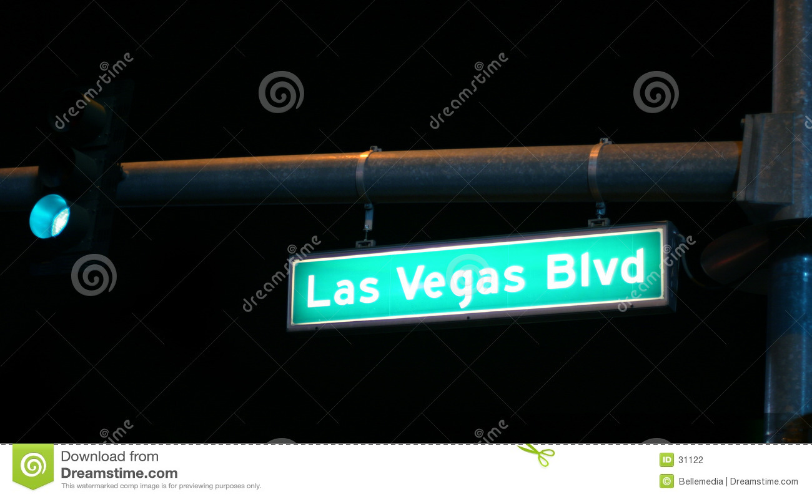 Las Vegas night time