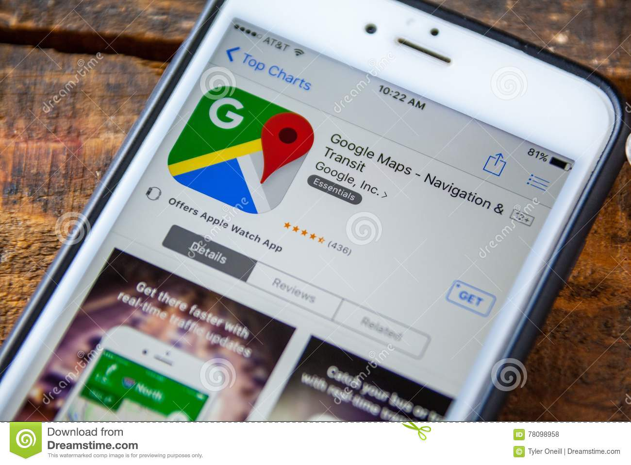 Download Free Google Map App on