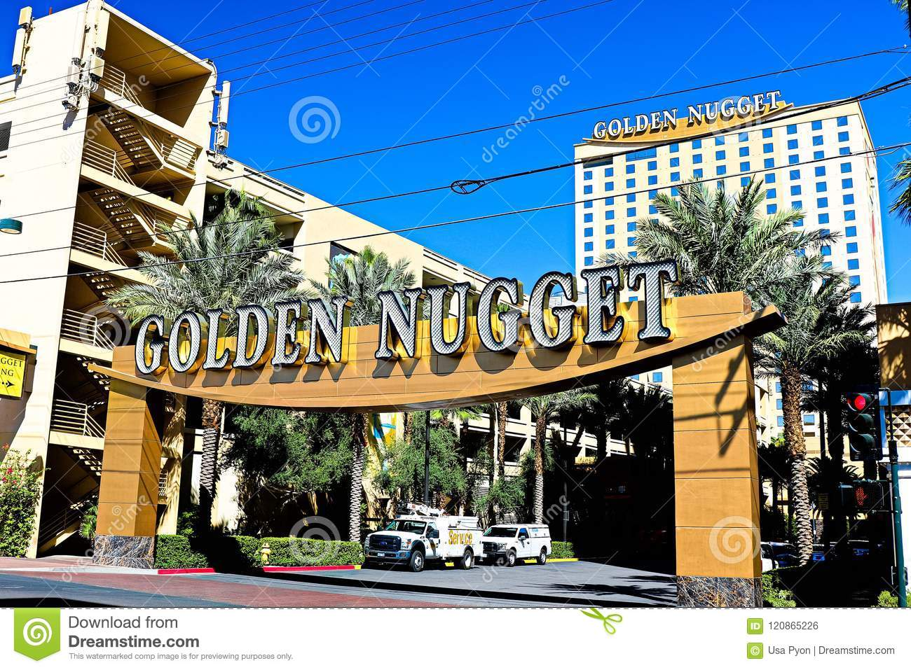 The Golden Nugget Hotel And Casino Editorial Photo Image Of