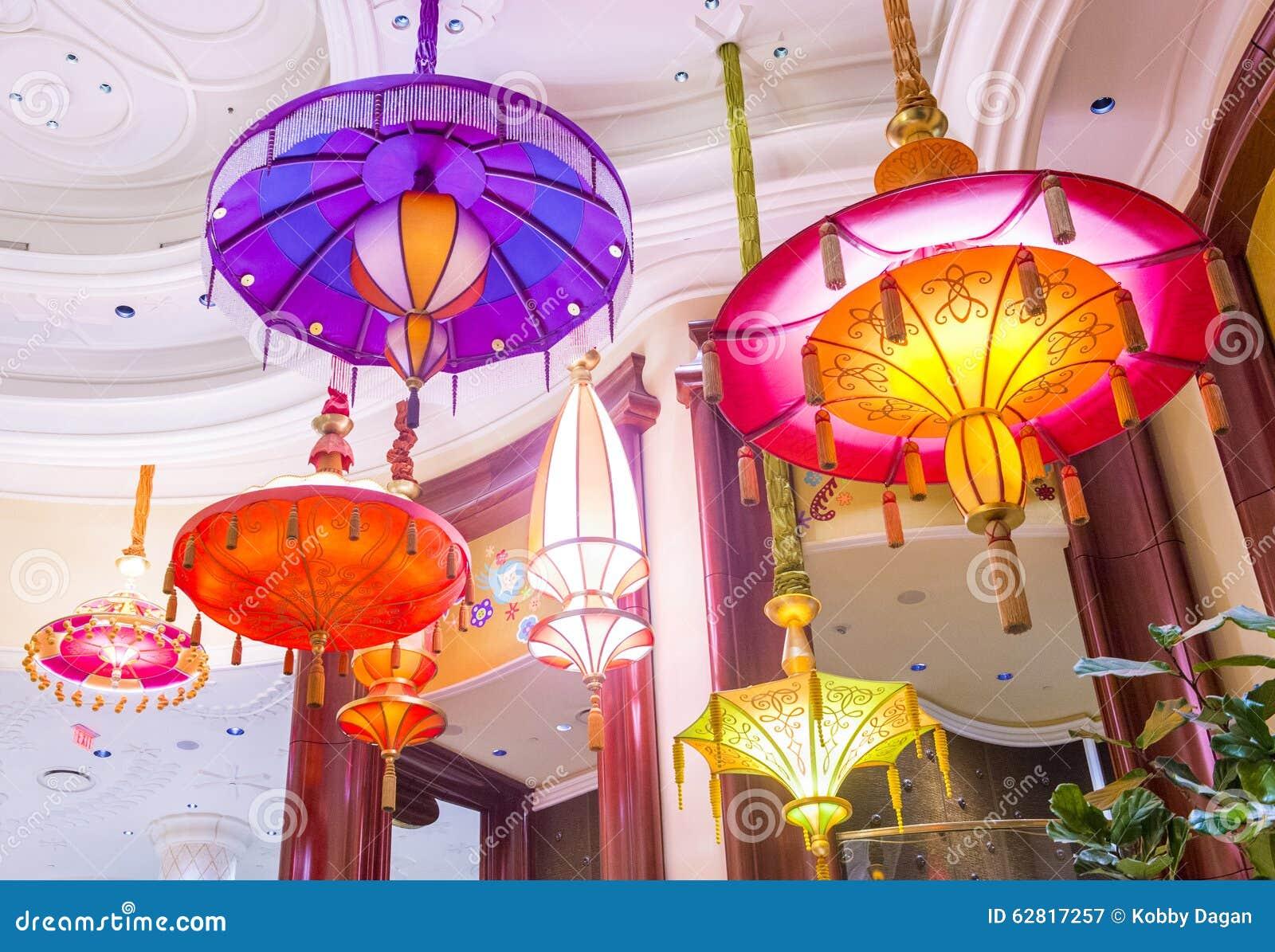 Las Vegas Parasol Bar Editorial Photography Image Of Neon 62817257