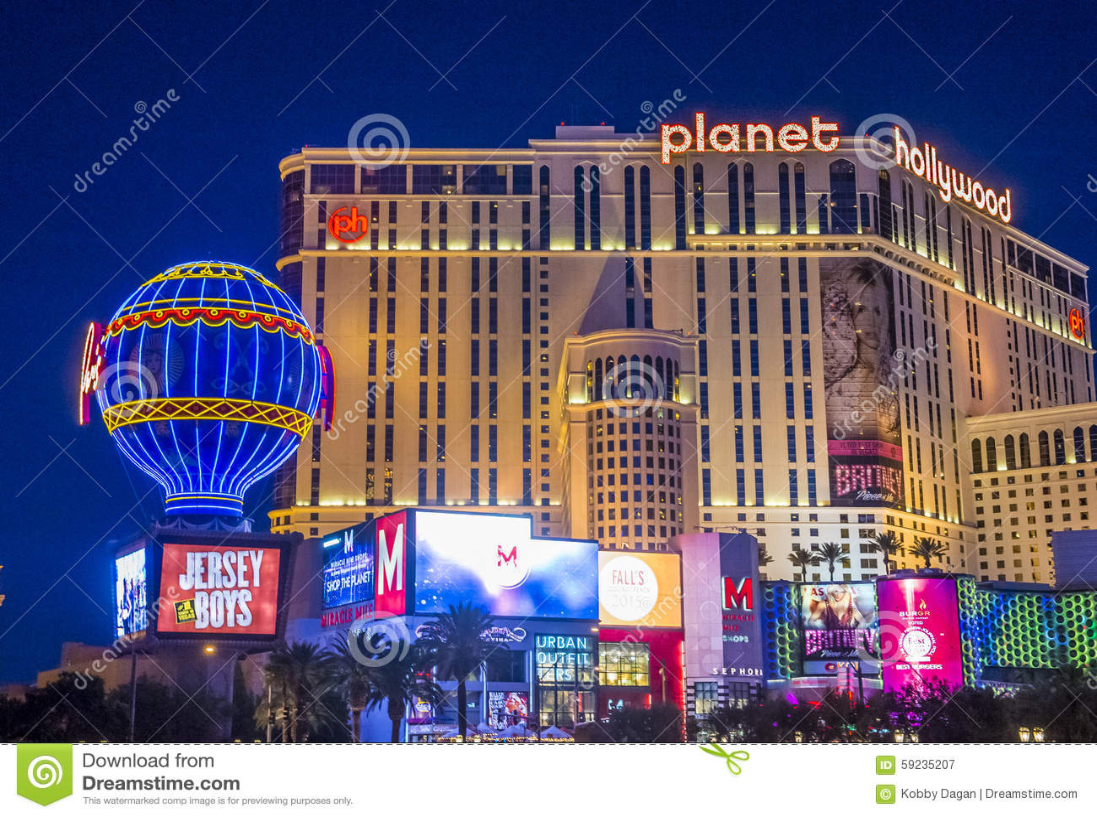 Las Vegas, planeta Hollywood