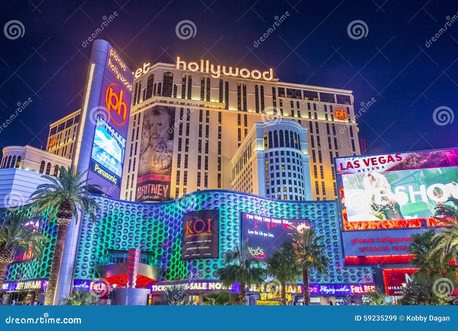 Download Las Vegas, Planeta Hollywood Imagen de archivo editorial - Imagen de exterior, colorido: 59235299