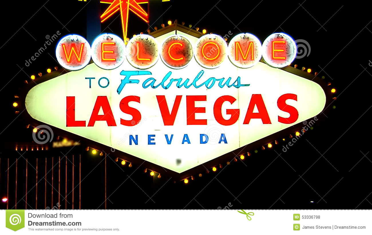 Stock footage welcome to fabulous las vegas sign with flashing lights - Stock Footage Welcome To Fabulous Las Vegas Sign With Flashing Lights 58
