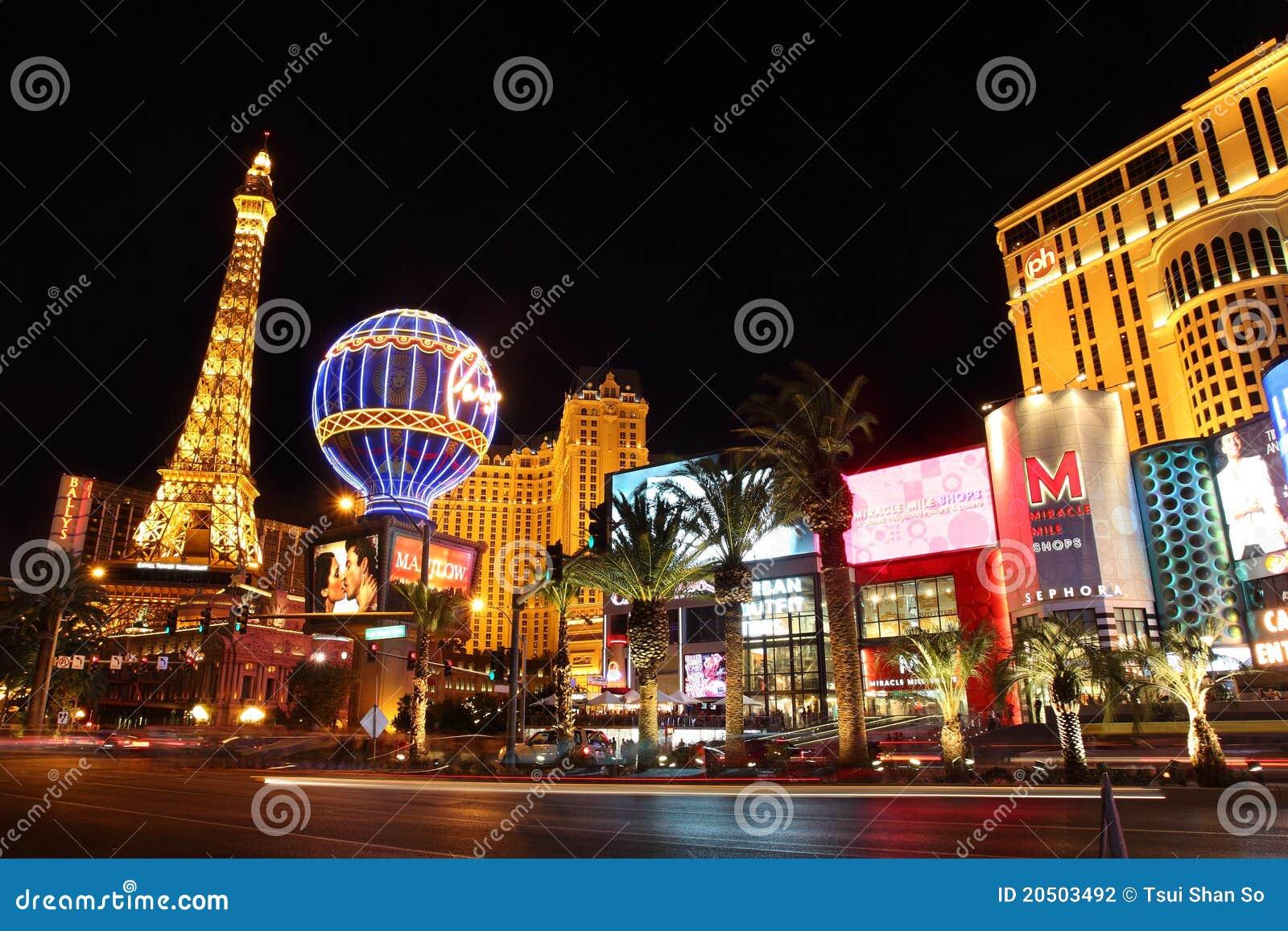 Las Vegas Strip τη νύχτα