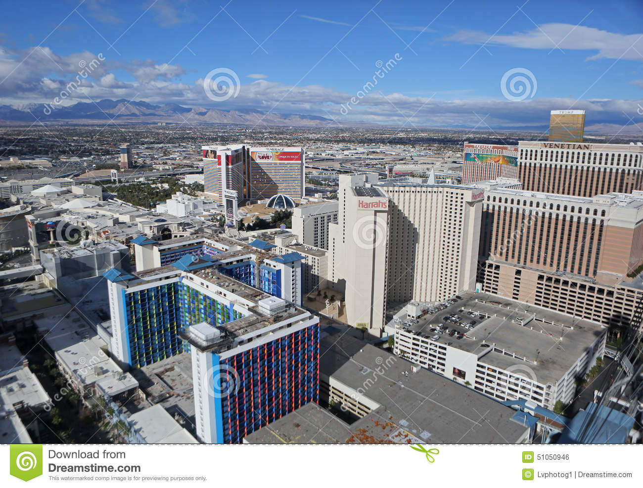 Aerial view las vegas strip remarkable
