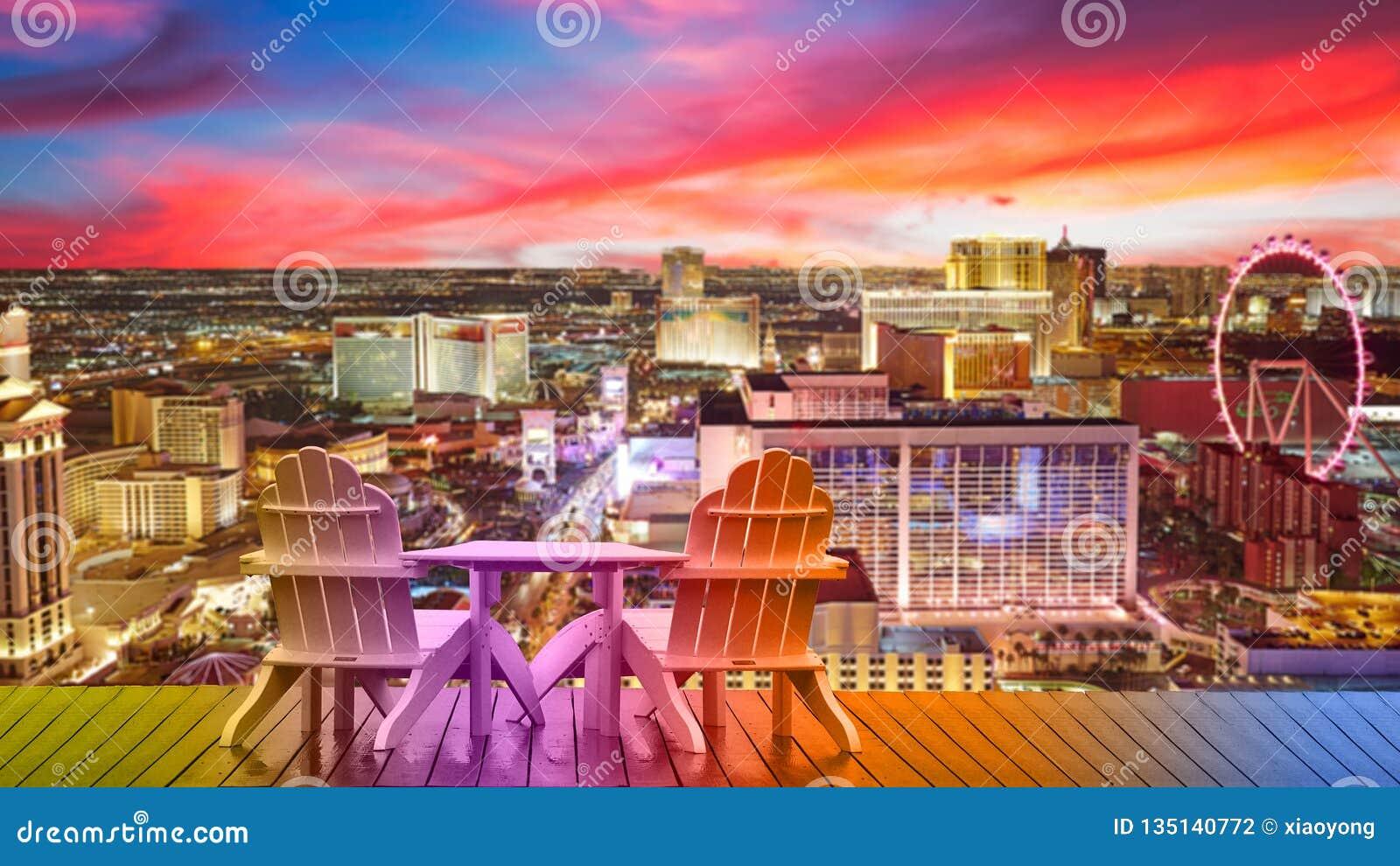 Las Vegas wakacje, relaksuje w Vegas