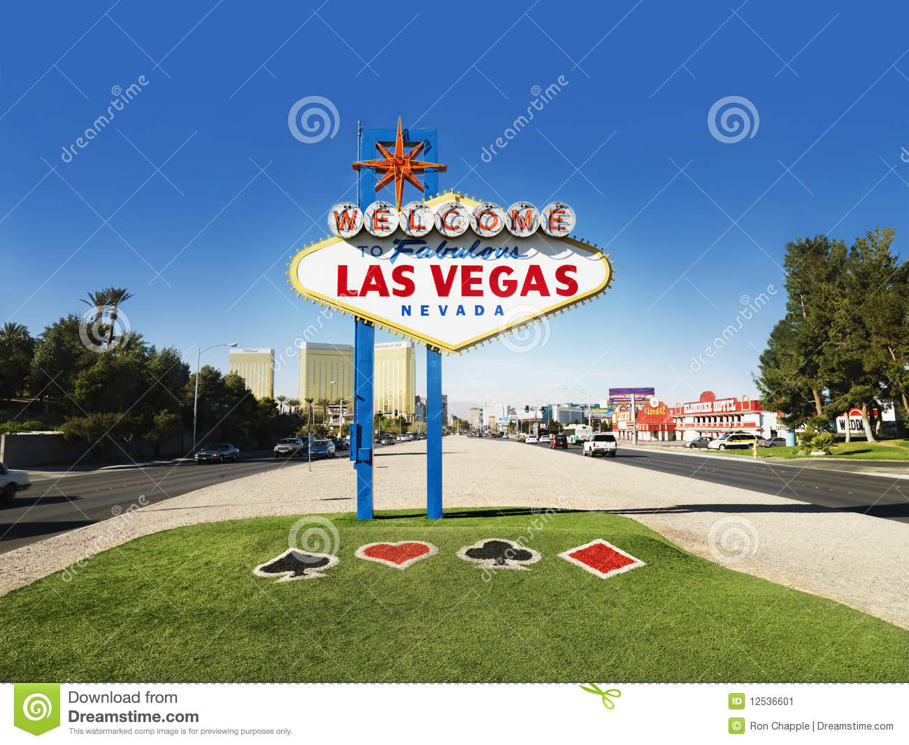 las vegas welcome sign editorial photo image of recreation 12536601. Black Bedroom Furniture Sets. Home Design Ideas