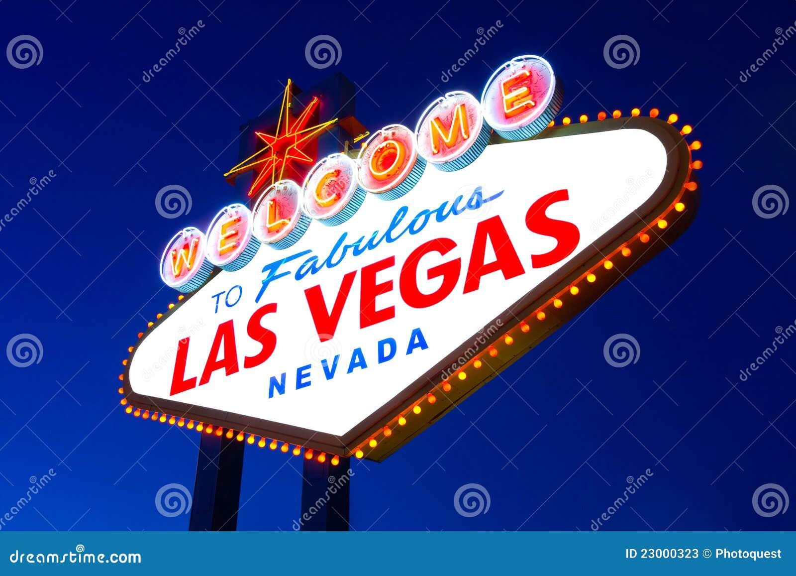 Las Vegas znak