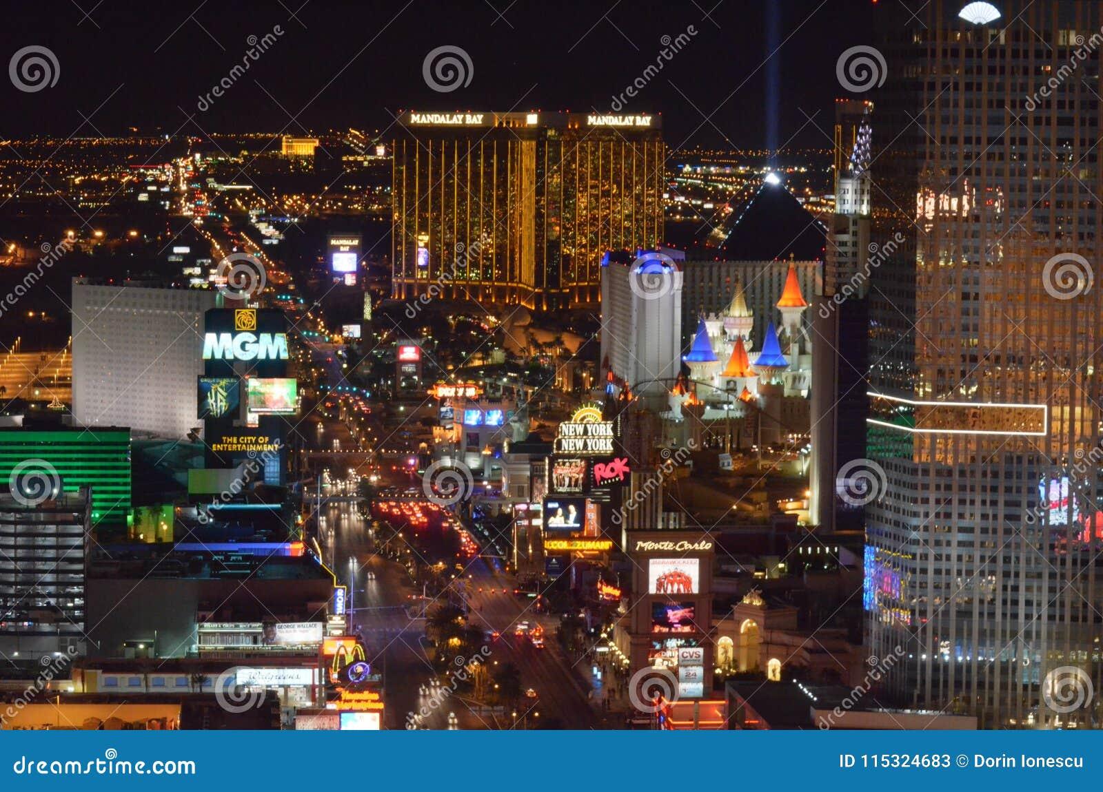 Las Vegas, zona metropolitana, paisaje urbano, ciudad, zona urbana