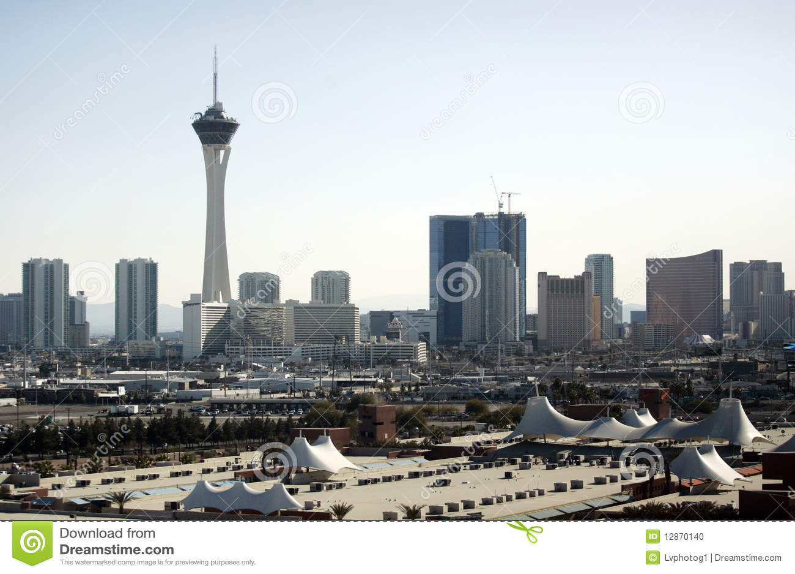Las- VegasSkyline an der Tageszeit