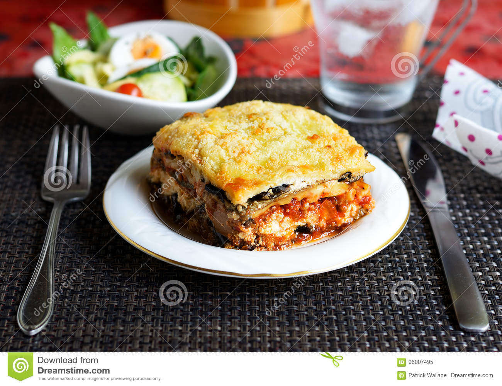 Lasagna μελιτζάνας