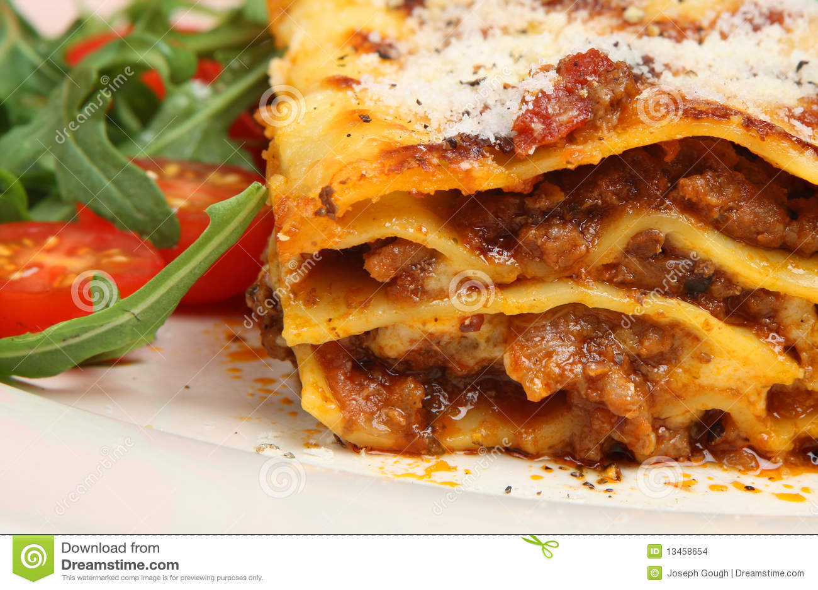 Lasagna Al Forno Stock Images - Image: 13458654