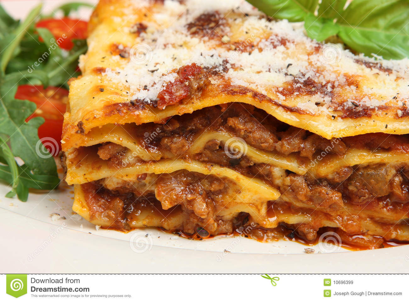 Lasagna with Beef