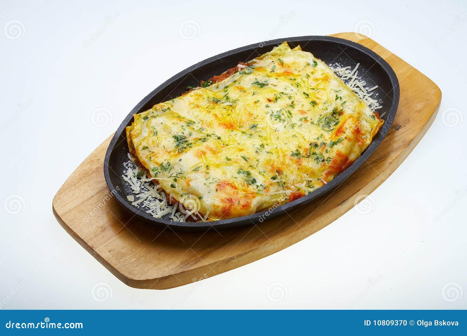 Lasagna italiano bolognese