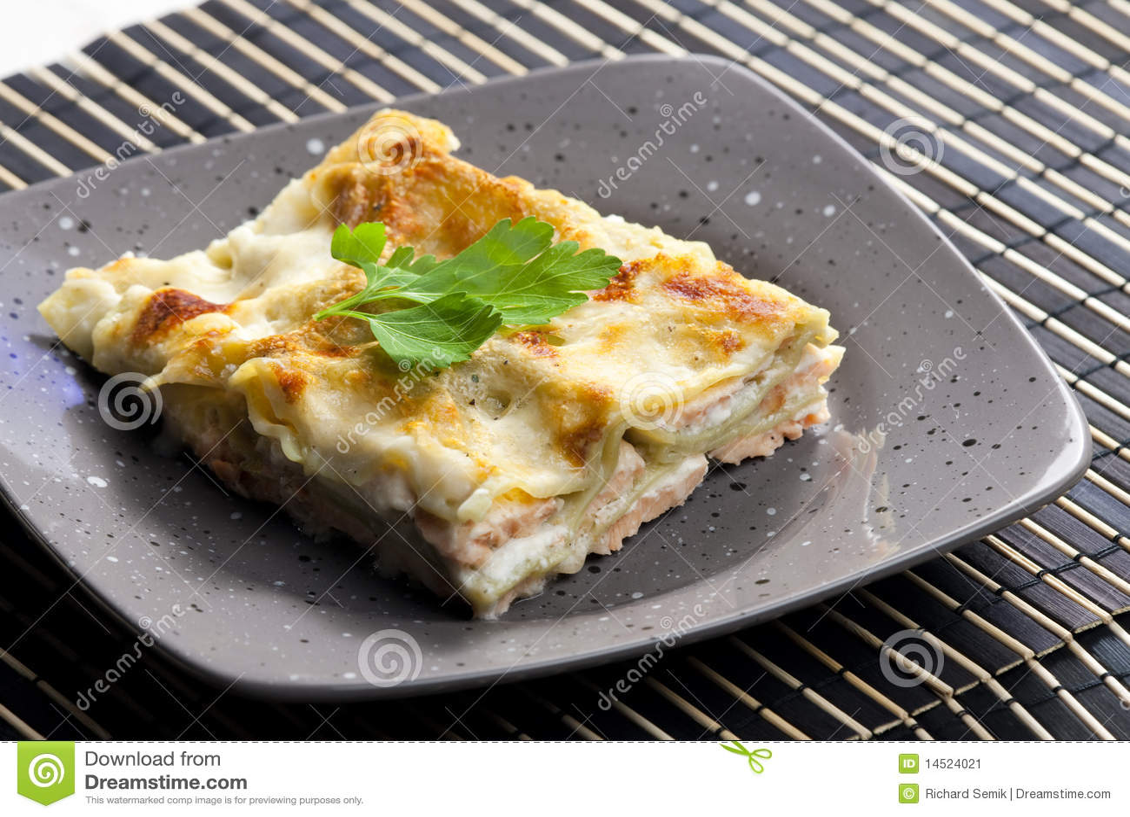 Lasagne σπανάκι