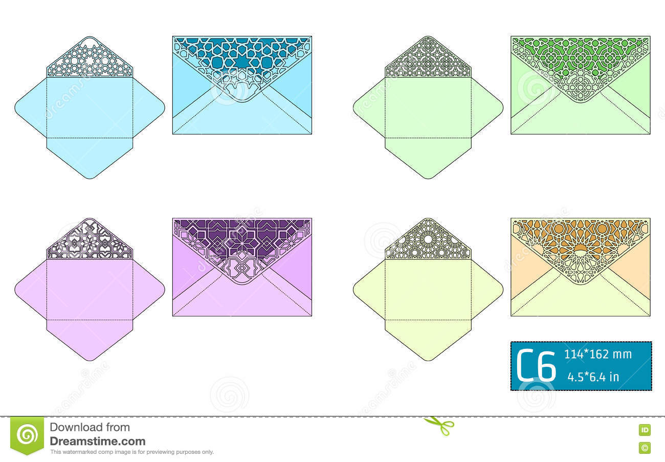 Lase Envelope Template