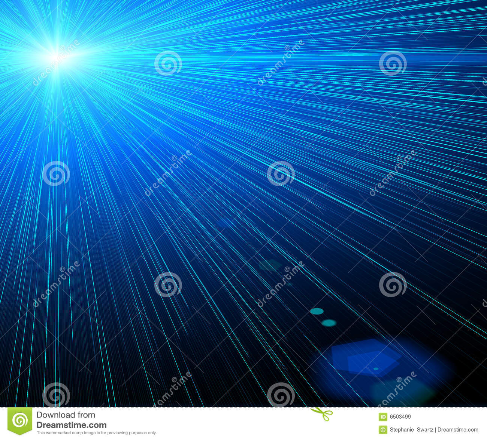 Laser background