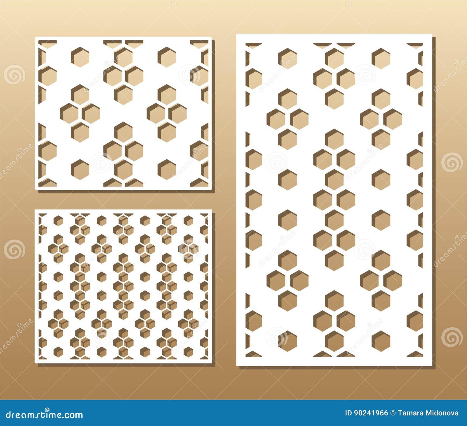 Laser cut panel stock vector  Illustration of envelope