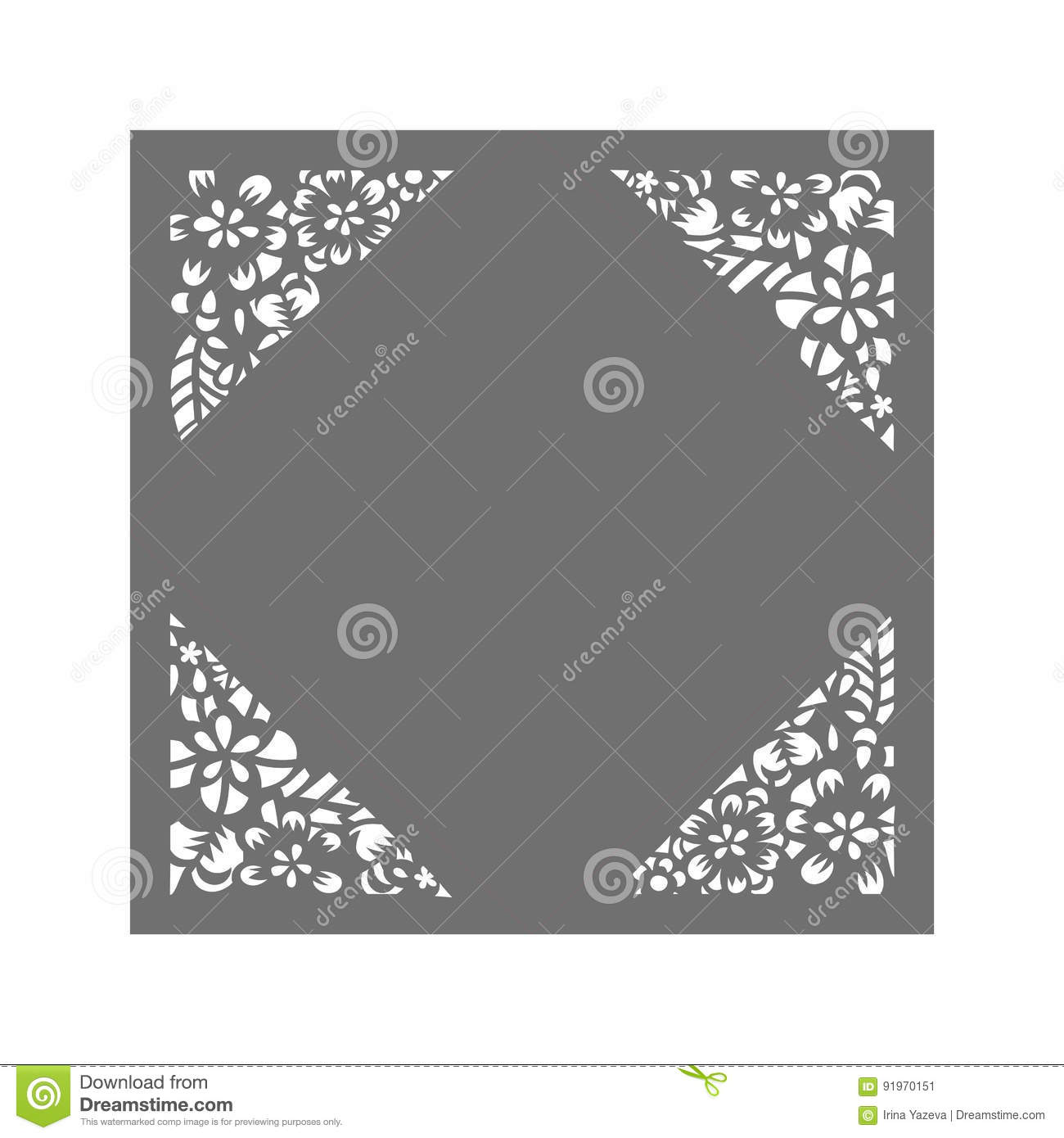 laser cut vector template cartoon vector 91970151. Black Bedroom Furniture Sets. Home Design Ideas
