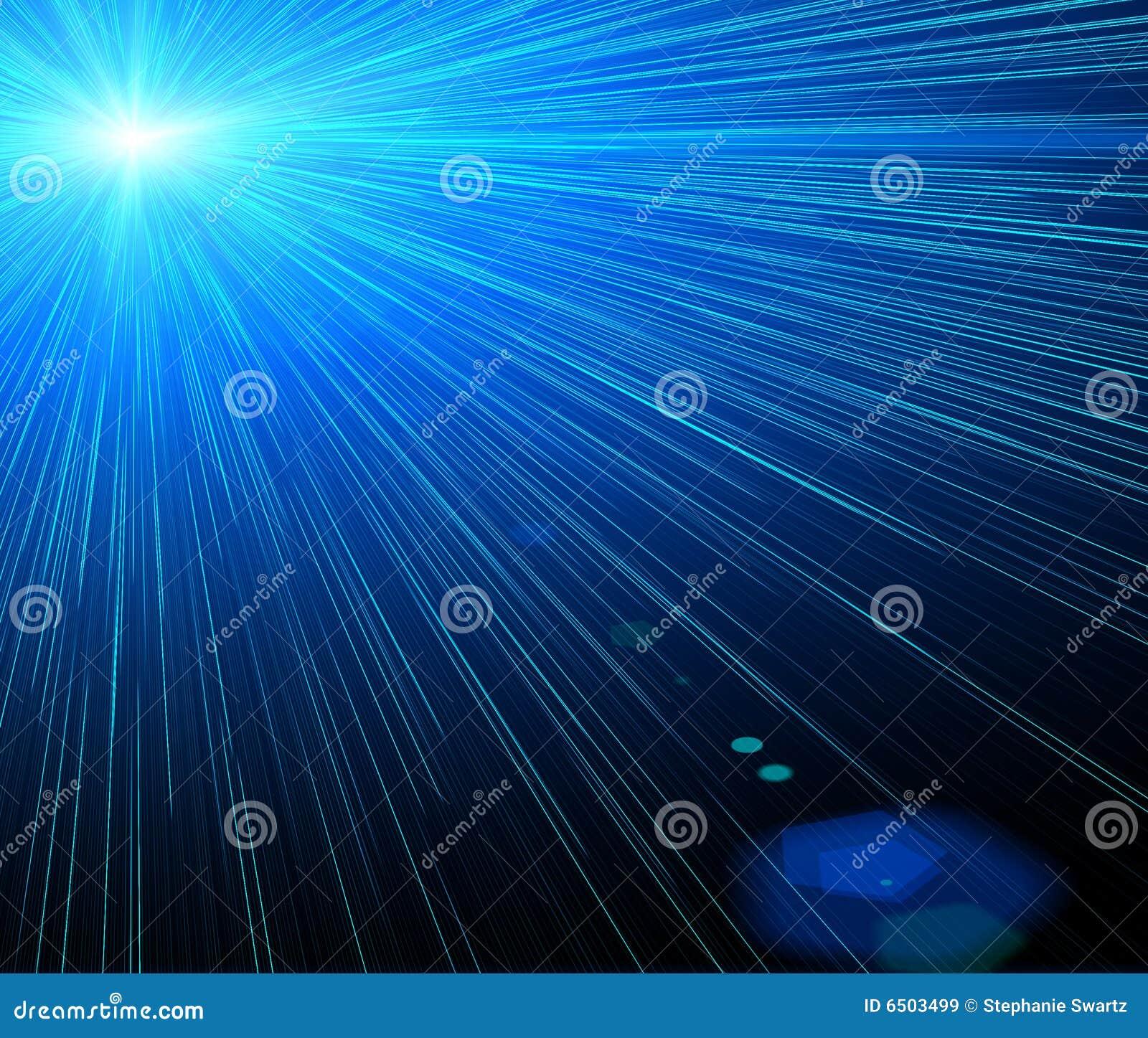 Laser de fond