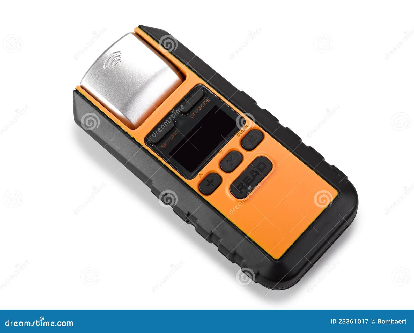 Laser Measuring Instruments : D man surveyor with laser distance meter hardhat and
