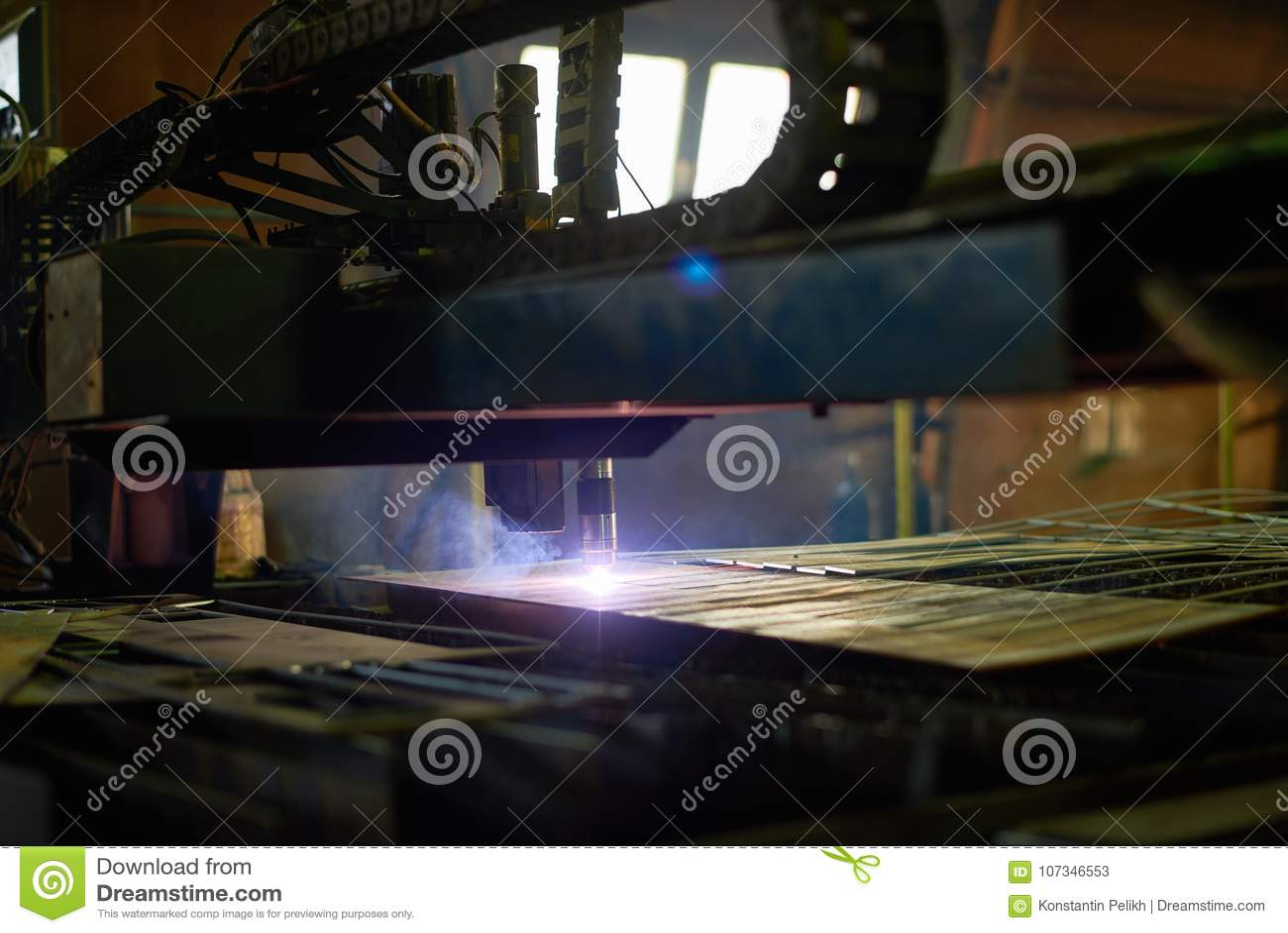 Laser om metaal te snijden