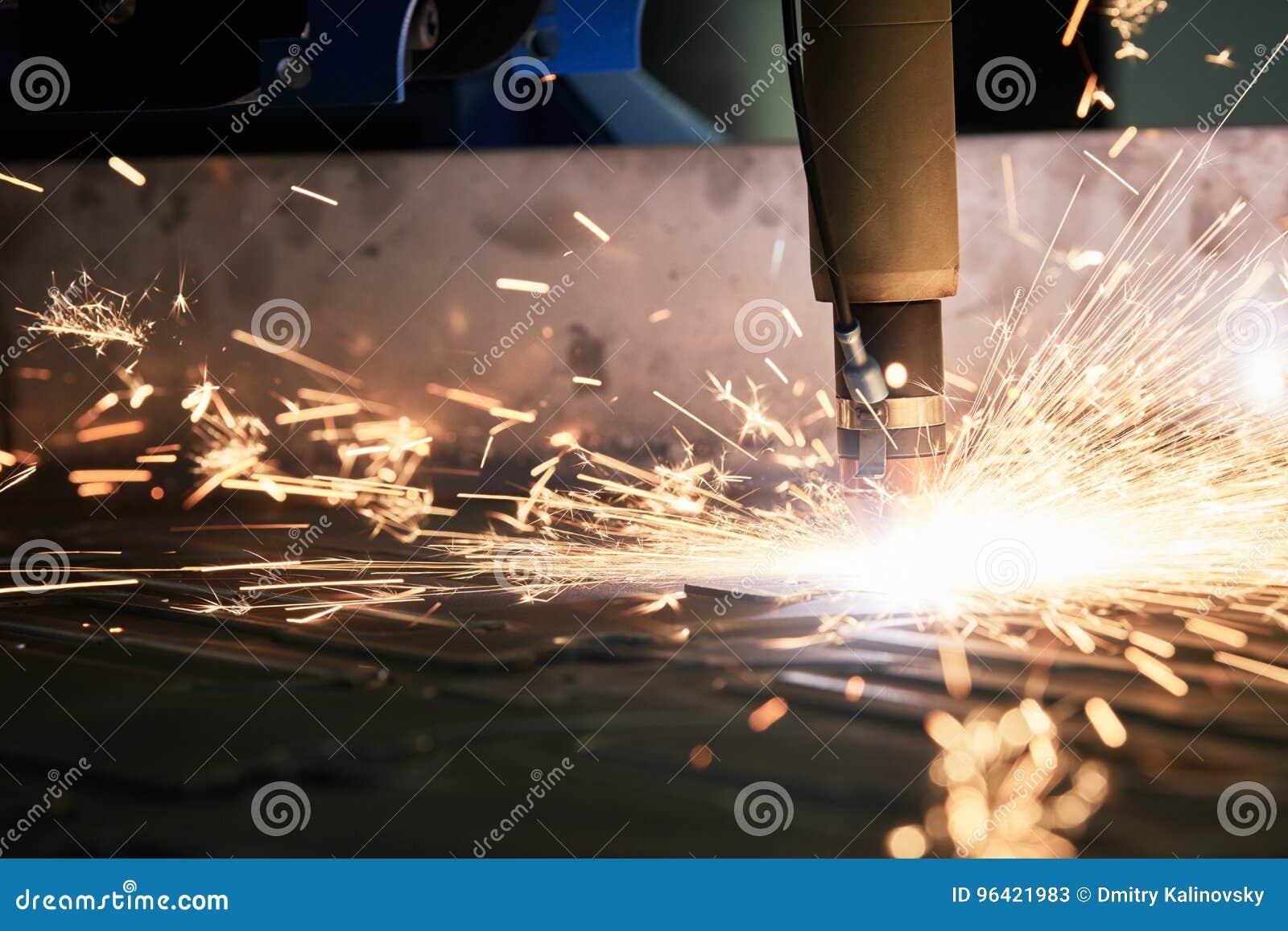 Laser of plasma scherpe technologie van vlak bladmetaal