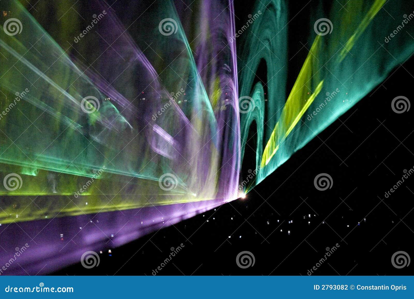 Laser-Projektionserscheinen