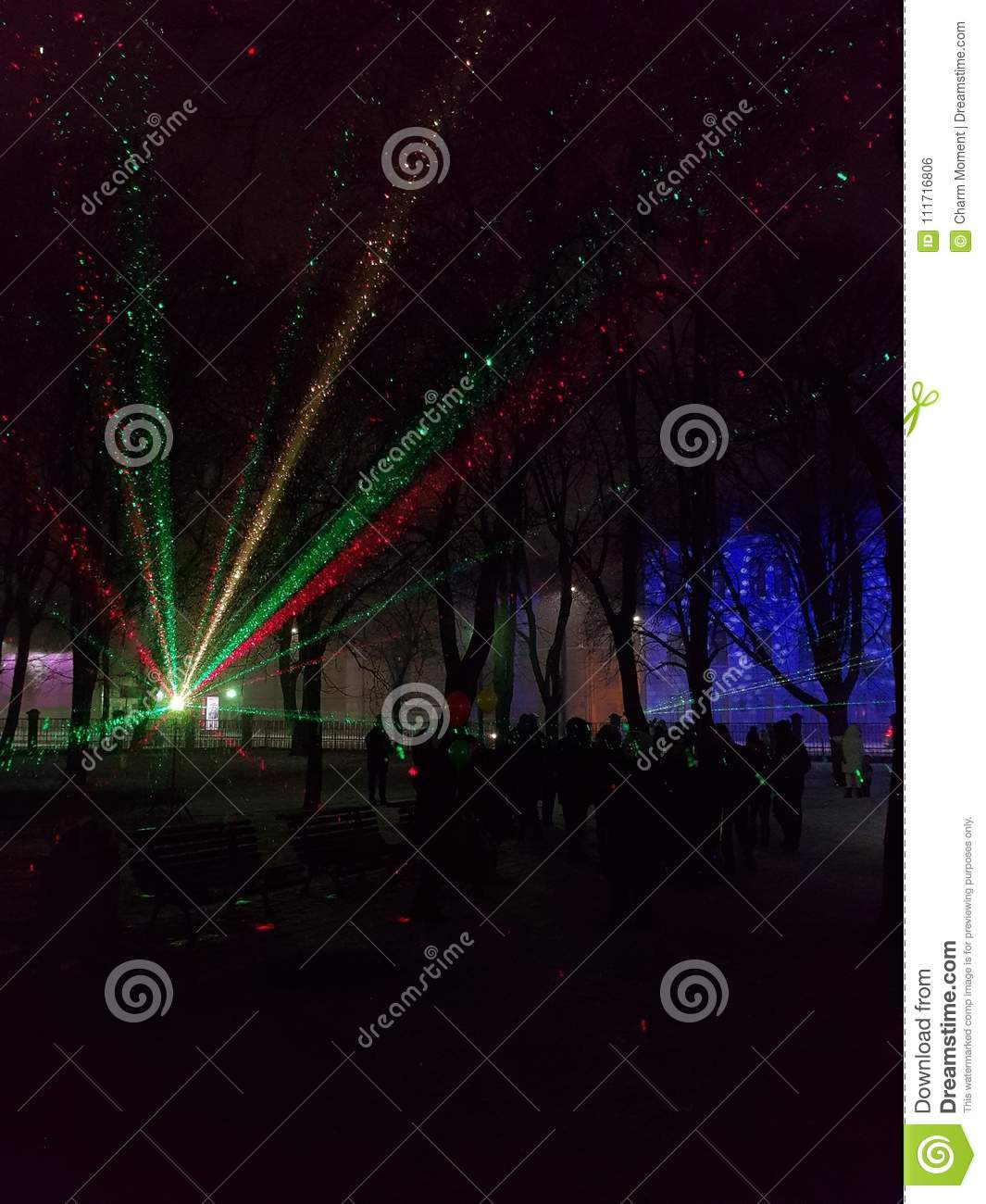 Laser show at Palace Square 2018 63