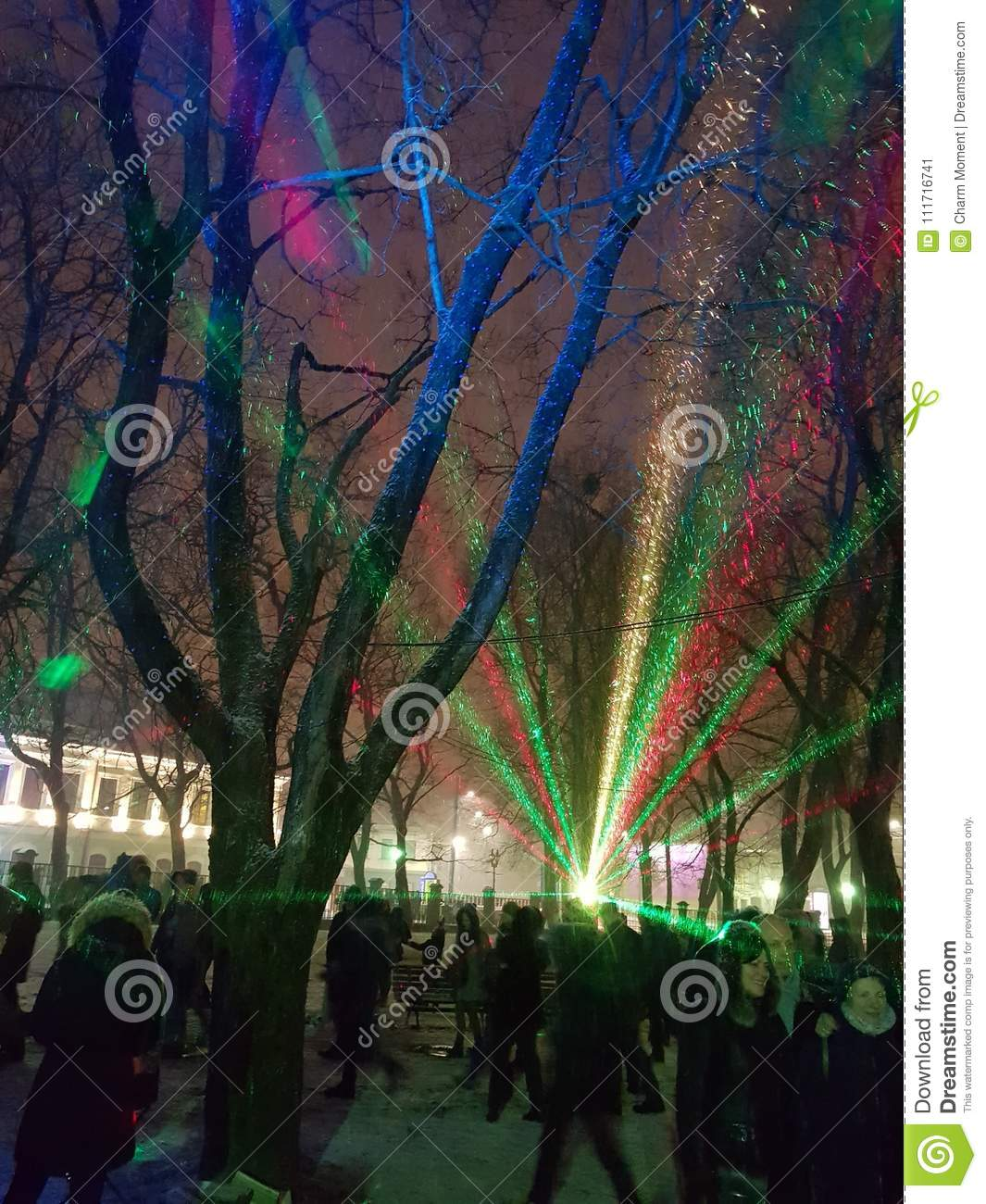 Laser show at Palace Square 2018 12