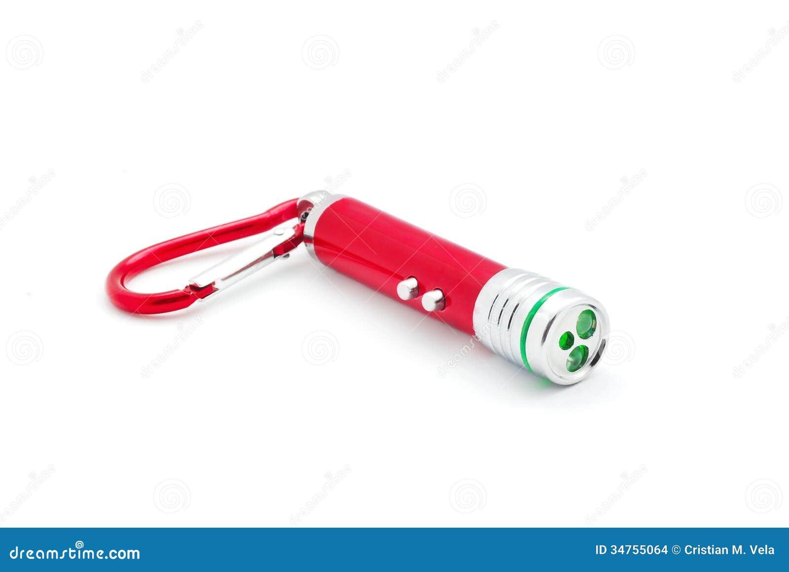 Laserowa pointer latarka