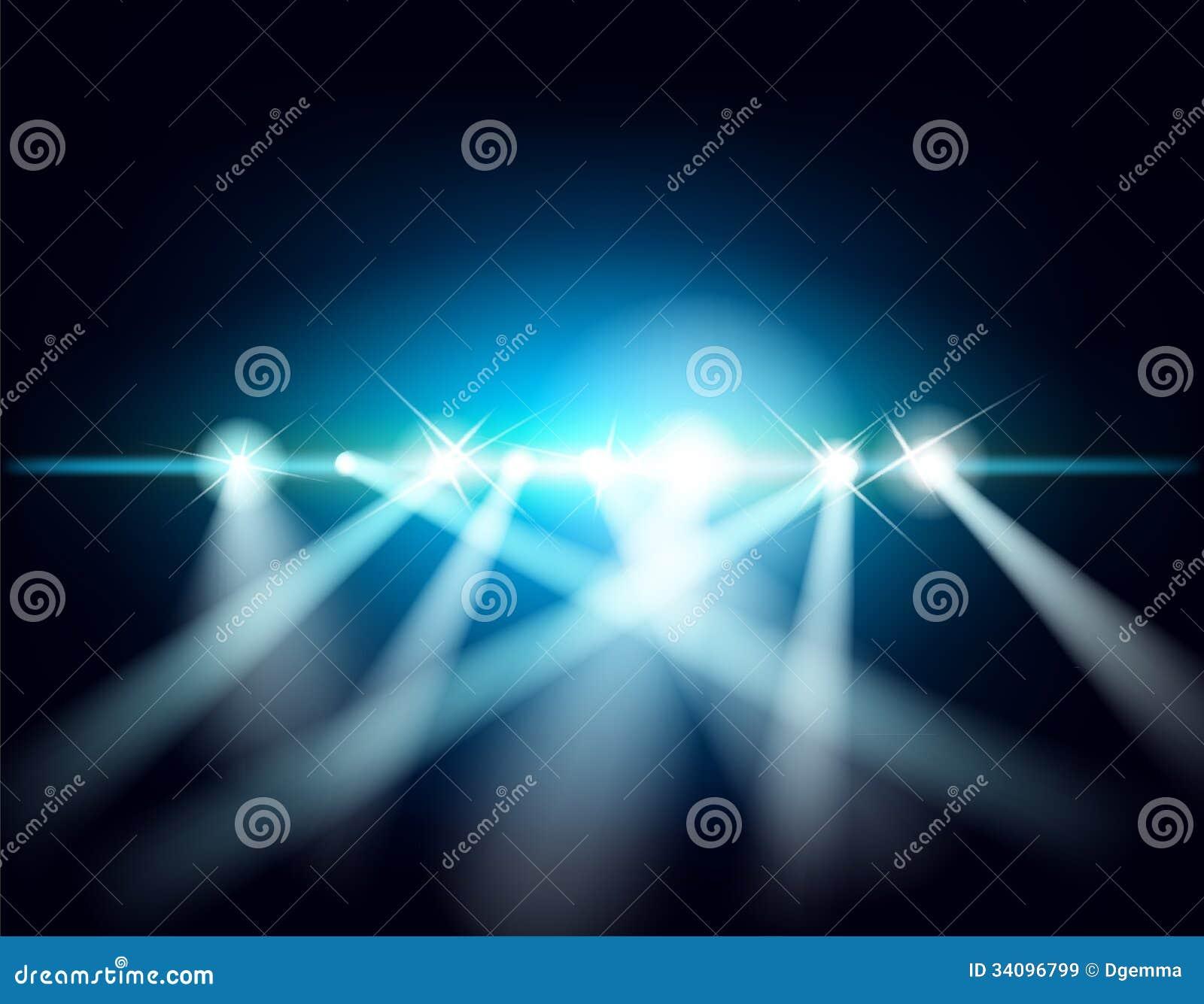 Laserowy przedstawienie
