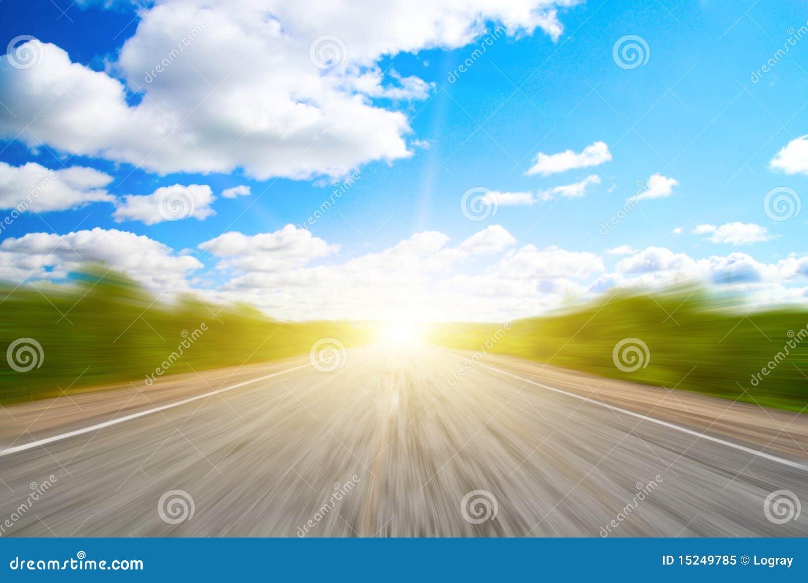 Lasowej drogi prędkość