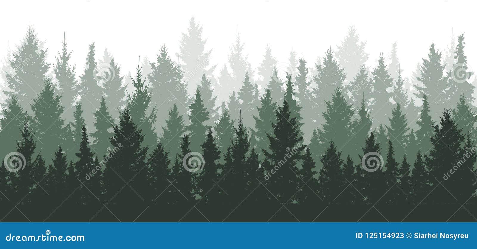 Lasowy tło, natura, krajobraz